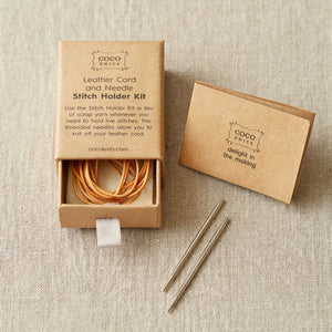 Cocoknits Leather Stitch Holder Kit