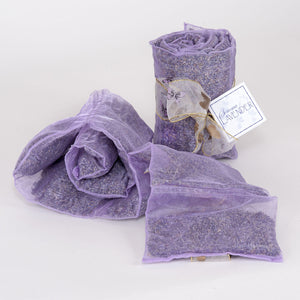 Lavender sachets rolled out