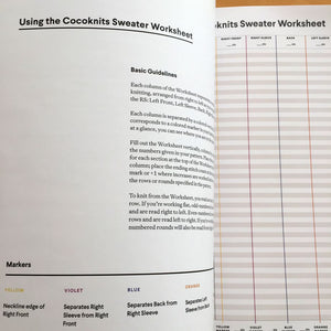 Cocoknits Sweater Workshop Journal