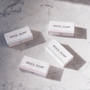 Wool Soap Bar White Grapefruit