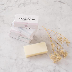 Wool Soap Bar Rosewood