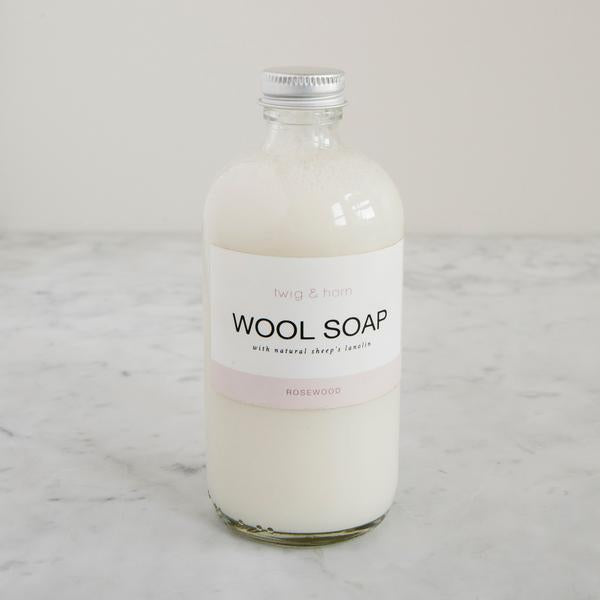 Wool Soap Rosewood
