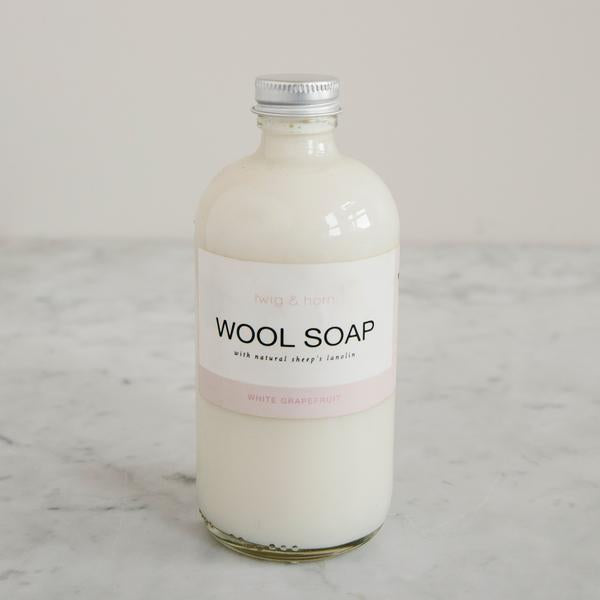 Wool Soap White Grapefruit