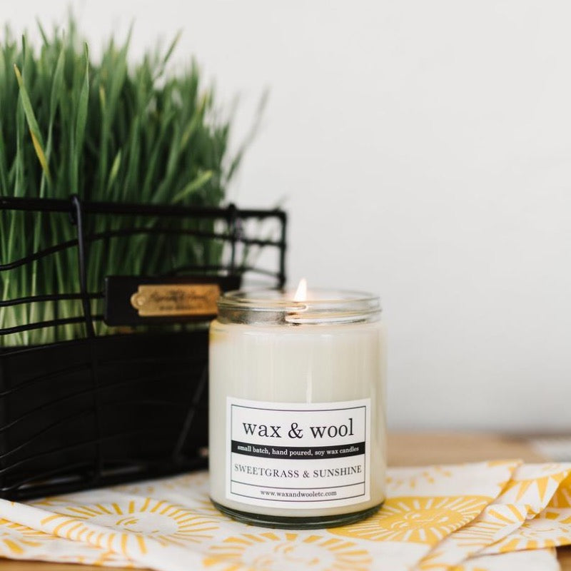 Wax & Wool Soy Candle