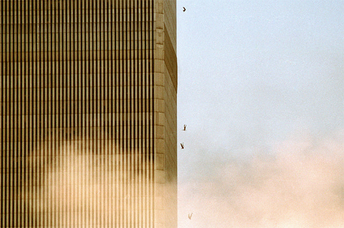 Jumping From Trade Center by David Surowiecki