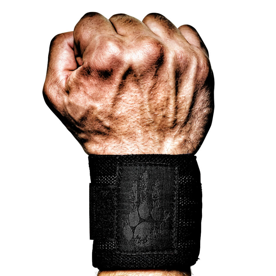 f0d289cc74a Night Stalker Wrist Wraps - The Dark Side in the Gym - MANIMAL