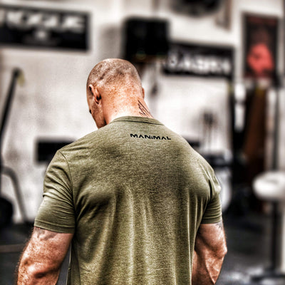 OD Green Gym Shirt CrossFit