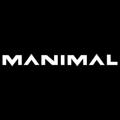 MANIMAL White Sticker