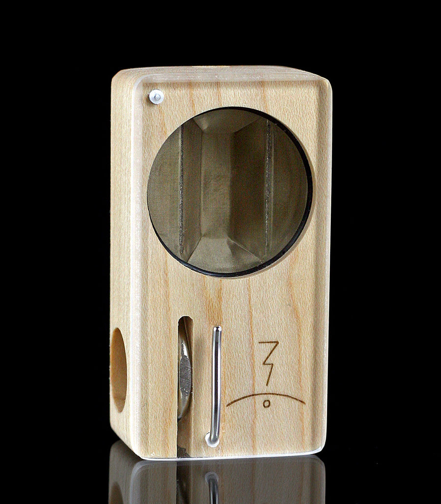 magic flight launch box high end table top vape maple