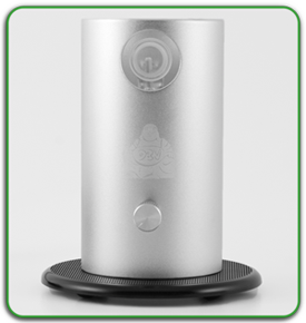 da buddha high end table top vape silver