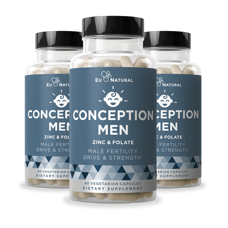 Eu Natural CONCEPTION MEN Fertility Vitamins (3 Pack)