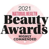 Natural Health Beauty Awards Highly Commended Best Shower Gel 2021