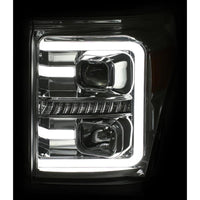 ANZO CHROME PLANK STYLE SWITCHBACK PROJECTOR HEADLIGHTS - 6.7L (2011-2016)