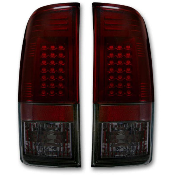 RECON DARK RED LED TAIL LIGHTS - 7.3L / 6.0L  (1999-2007)