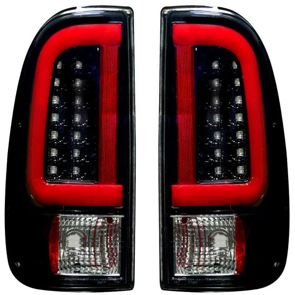 RECON SMOKED OLED TAIL LIGHTS- 7.3L / 6.0L  (1999-2007)