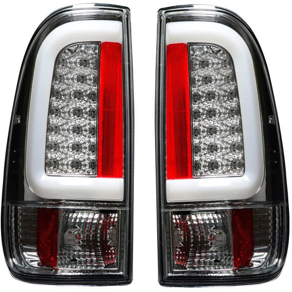 RECON CHROME OLED TAIL LIGHTS- 7.3L / 6.0L  (1999-2007)