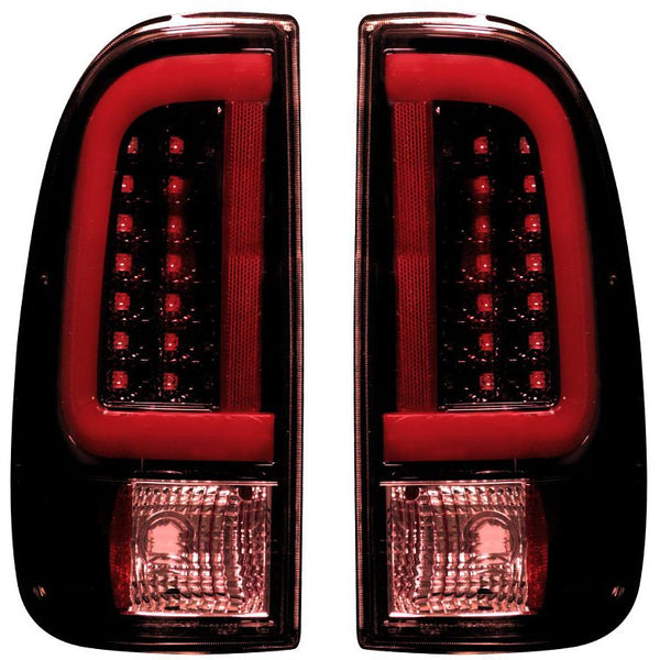 RECON DARK RED SMOKED OLED TAIL LIGHTS - 7.3L / 6.0L  (1999-2007)