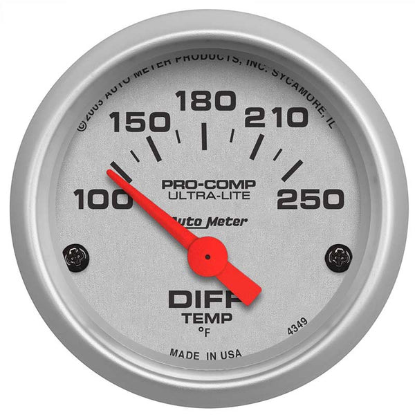 AUTO METER ULTRA-LITE DIFFERENTIAL TEMP. GAUGE (1994-2020)