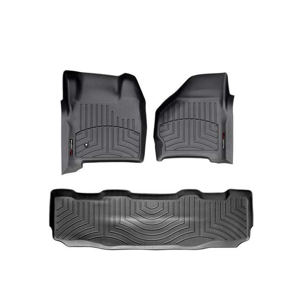 WEATHERTECH  DIGITALFIT FLOORLINER SET (CREW CAB) - 7.3L / 6.0L (199-2007)