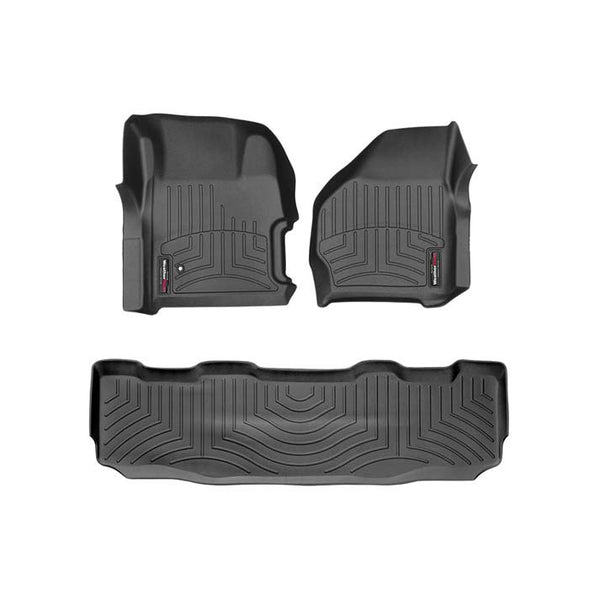 WEATHERTECH  DIGITALFIT FLOORLINER SET (CREW CAB WITH FLOOR SHIFTER) - 7.3L / 6.0L (199-2007)