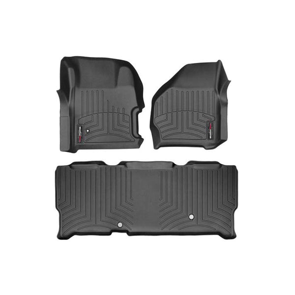 WEATHERTECH  DIGITALFIT FLOORLINER SET (EXTENDED CAB WITH FLOOR SHIFTER) - 7.3L / 6.0L (199-2007)