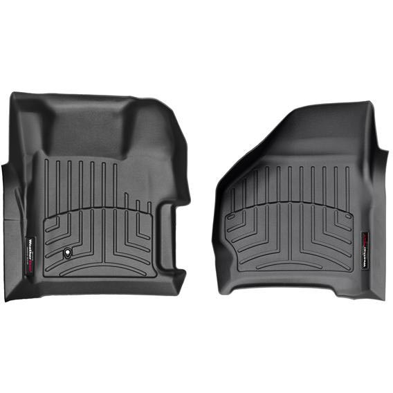 WEATHERTECH  DIGITALFIT FRONT FLOORLINER (WITH 4X4 FLOOR SHIFTER) 6.4L (2008-2010)