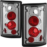 SPYDER EURO STYLE TAIL LIGHTS - EXCURSION & E-SERIES