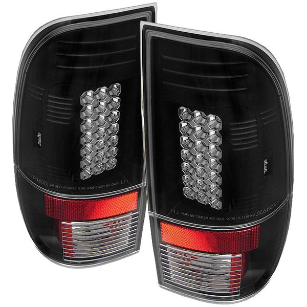 SPYDER LED TAIL LIGHTS - ALL STYLES - 7.3L / 6.0L  (1999-2007)
