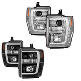 SPYDER PROJECTOR HEADLIGHTS WITH LIGHT BAR DRL 6.4L (2008-2010)