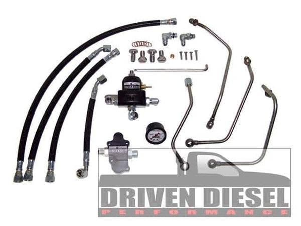 Driven Diesel Regulated Return Fuel System Kit - 6.0L (2003-2007)