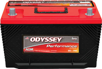 ODYSSEY PERFORMANCE SERIES AGM BATTERY 762CCA  (1994-2020)