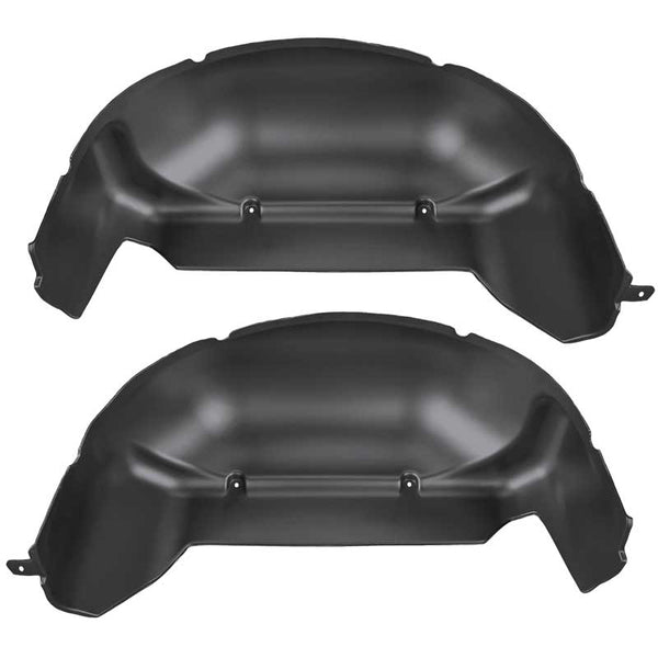 HUSKY LINERS BLACK WHEEL WELL GUARDS - 6.7L (2011-2016)