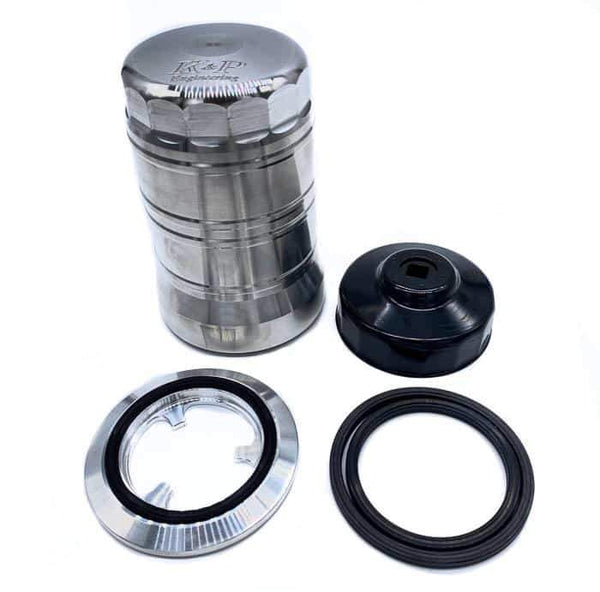 K&P Stainless Steel Micronic Oil Filter - 6.7L (2010-2019)