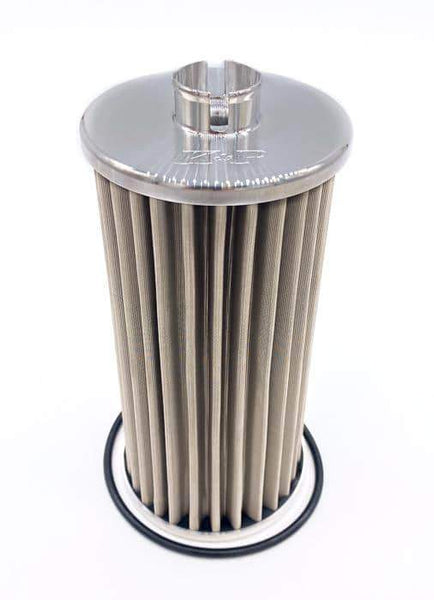 K&P Stainless Steel Micronic Oil Filter - 6.0L (2003-2007)