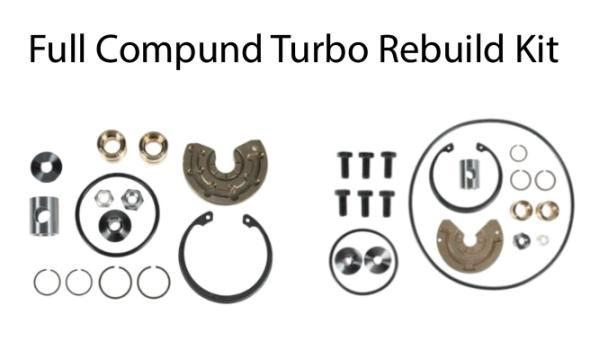 KC Complete Compound Turbo Rebuild kit - 6.4L (2008-2010)