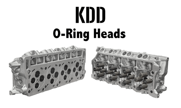 Kill Devil Diesel O-Ringed Cylinder Heads - 6.0L (2003-2007)