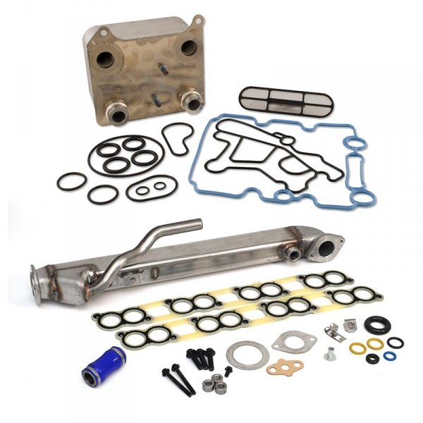 "XDP Powerstroke Basic Solution Kit (EGR Cooler & Oil Cooler) ""18MM"" 6.0L (2003-2007)"