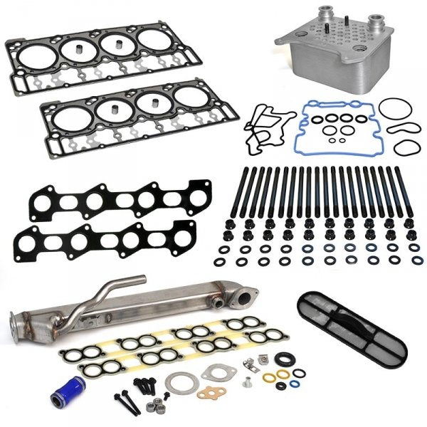 "XDP Powerstroke Solution Kit with Black Diamond Head Gaskets ""18MM) 6.0L (2003-2007)"