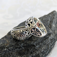 Load image into Gallery viewer, Sterling silver filagree ring