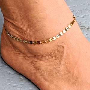 Ankle bracelets - several styles shown