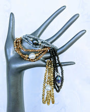 Load image into Gallery viewer, Sparkle triple wrap bracelet / necklace collection (see all photos)