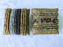 Load image into Gallery viewer, Multi-Sparkle triple wrap bracelet / necklace collection (see all photos)