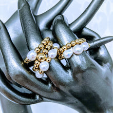 Load image into Gallery viewer, Five Golden Rings   (also available in Sterling Silver)