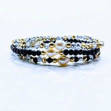 Load image into Gallery viewer, Single Pearl Sparkle Bracelet (Six colors to choose from)