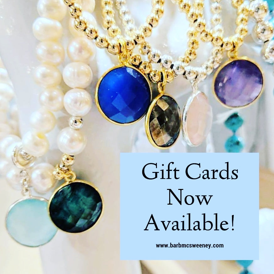 Barb McSweeney Jewelry Gift Card