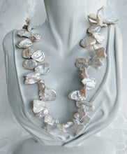 Load image into Gallery viewer, Keshi freshwater pearl necklace