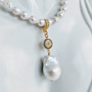 CZ and Baroque pearl enhancer