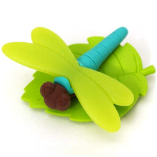 Load image into Gallery viewer, Dragonfly Erasers set of 6