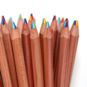 Rainbow Pencils Natural Cedar