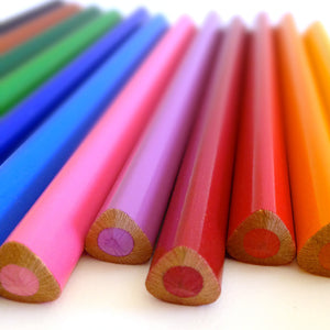 Jumbo watercolor pencils for kids